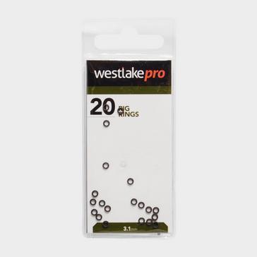 Black Westlake Rig Rings in Small (3.1mm)