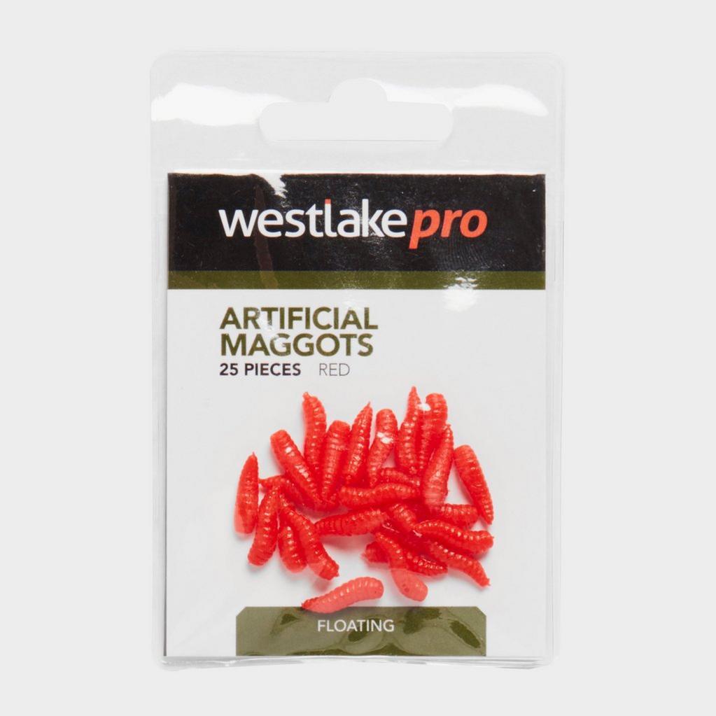 Red Westlake Artificial Pop-Up Maggots (Red) image 1