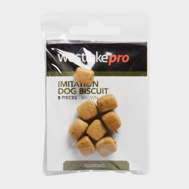 Brown Westlake Dog Biscuit Floating 8Pc image 1