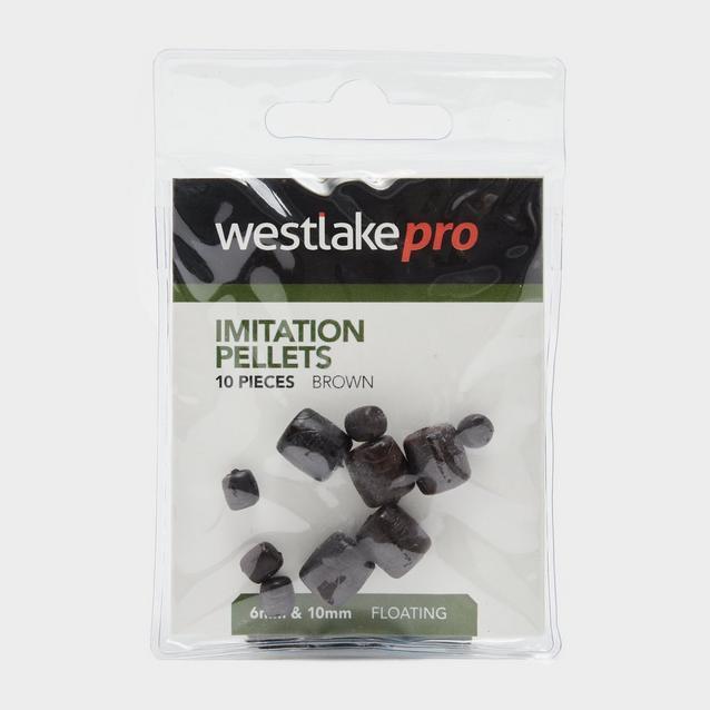 Brown Westlake Pellets 6 10Mm Fltng 10Pcs image 1