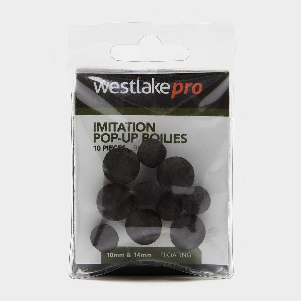 Black Westlake Imitation Pop-up Boilie in Black (10mm and 14mm) image 1