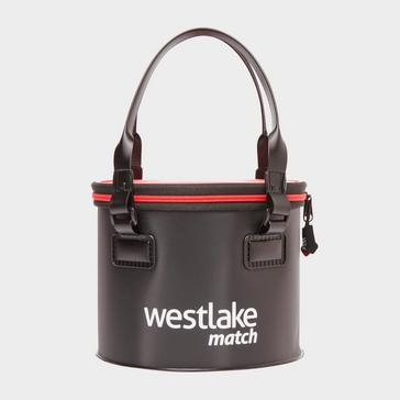 Black Westlake 10 Litre Groundbait Bowl with Lid
