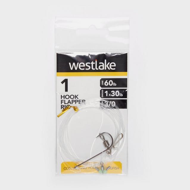 Silver Westlake 1 Hook Flapper 3/0 image 1