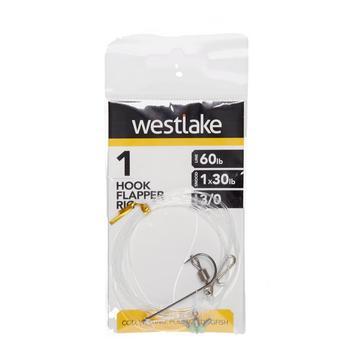 Silver Westlake 1 Hook Flapper 3/0