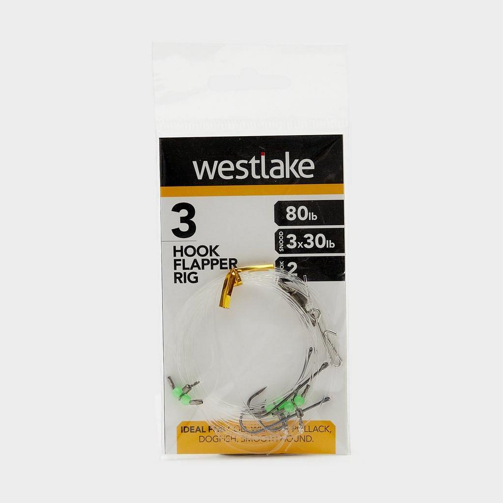 Silver Westlake 3 Hook Flapper Size 2 image 1