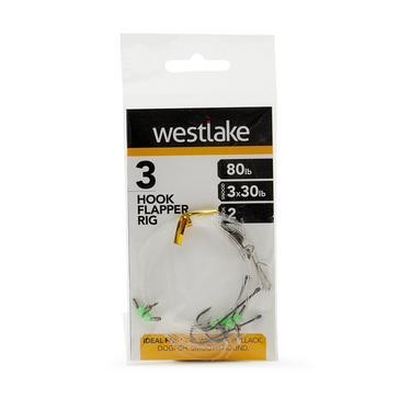 Silver Westlake 3 Hook Flapper Size 2