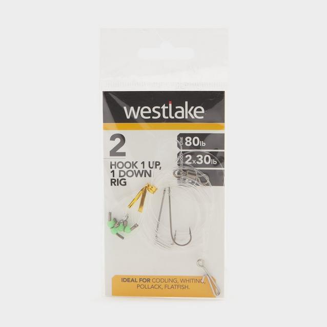Silver Westlake 2 Hook 1Up 1Down Rig 2 image 1