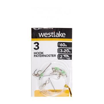 Clear Westlake 3 Hook Paternoster Rig (Size 2)