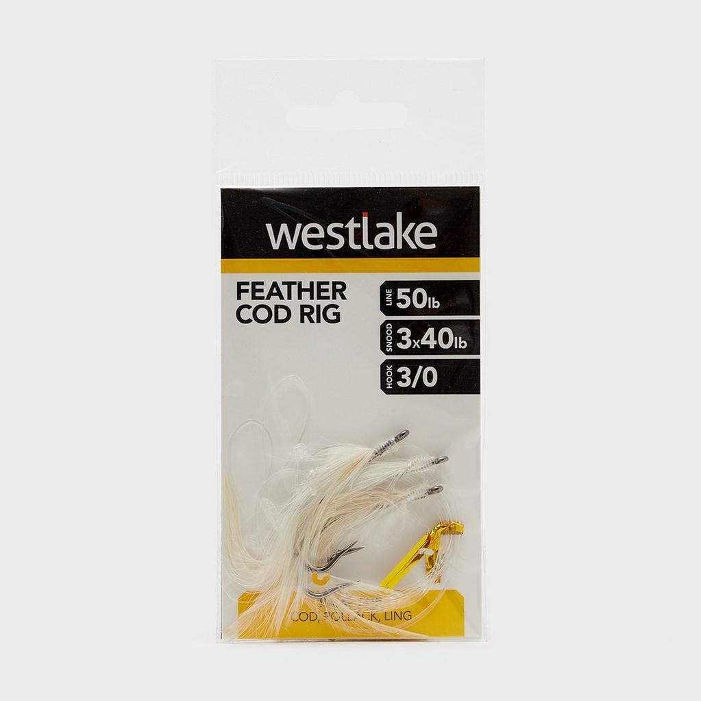 Multi Westlake 3 Hook Cod Feather (Size 3/0) image 1