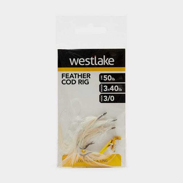 Multi Westlake 3 Hook Cod Feather 3/0 image 1
