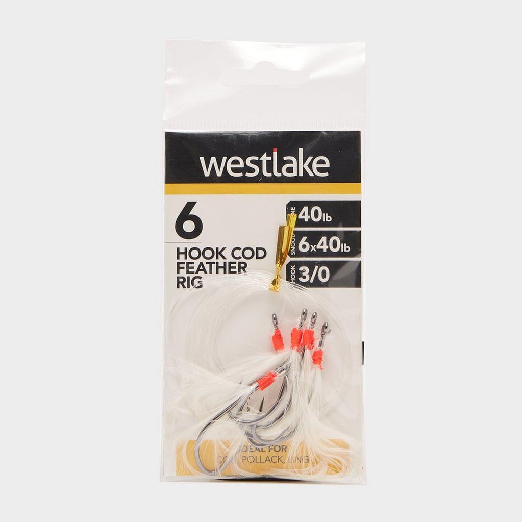 Multi Westlake 6 Hook Cod Feather 3/0 image 1