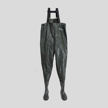 Black RON THOMPSON V2 CHEST WADERS CLEATED