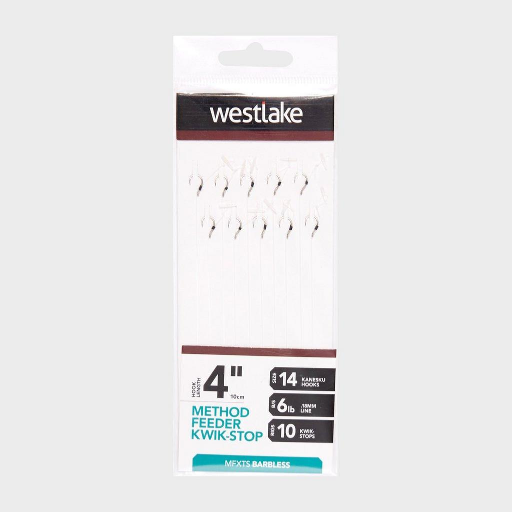 Silver Westlake Method Feeder Kwik-Stop (Size 14) image 1