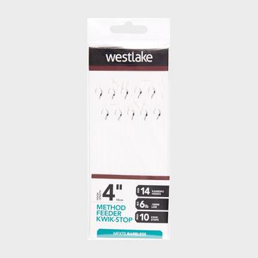 Silver Westlake Method Feeder Kwik-Stop (Size 14)