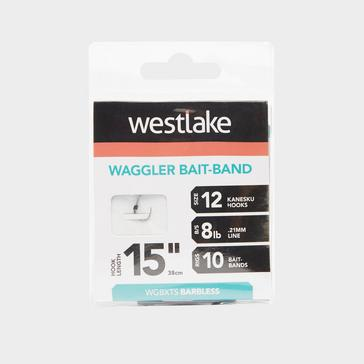 Silver Westlake Waggler Feeder Hook with Bait Band (Size 12)