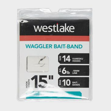 Silver Westlake Waggler Feeder Hook with Bait Band (Size 14)