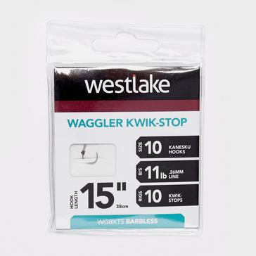 Silver Westlake Waggler Hook with Kwik-Stop (Size 10)
