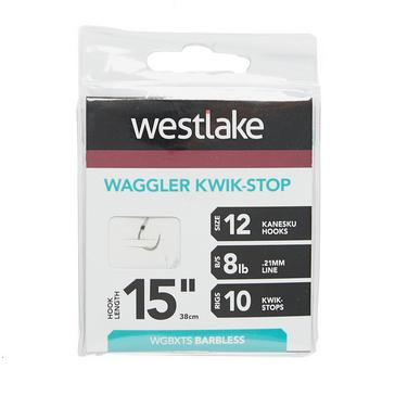 Silver Westlake Waggler Hook with Kwik-Stop (Size 12)