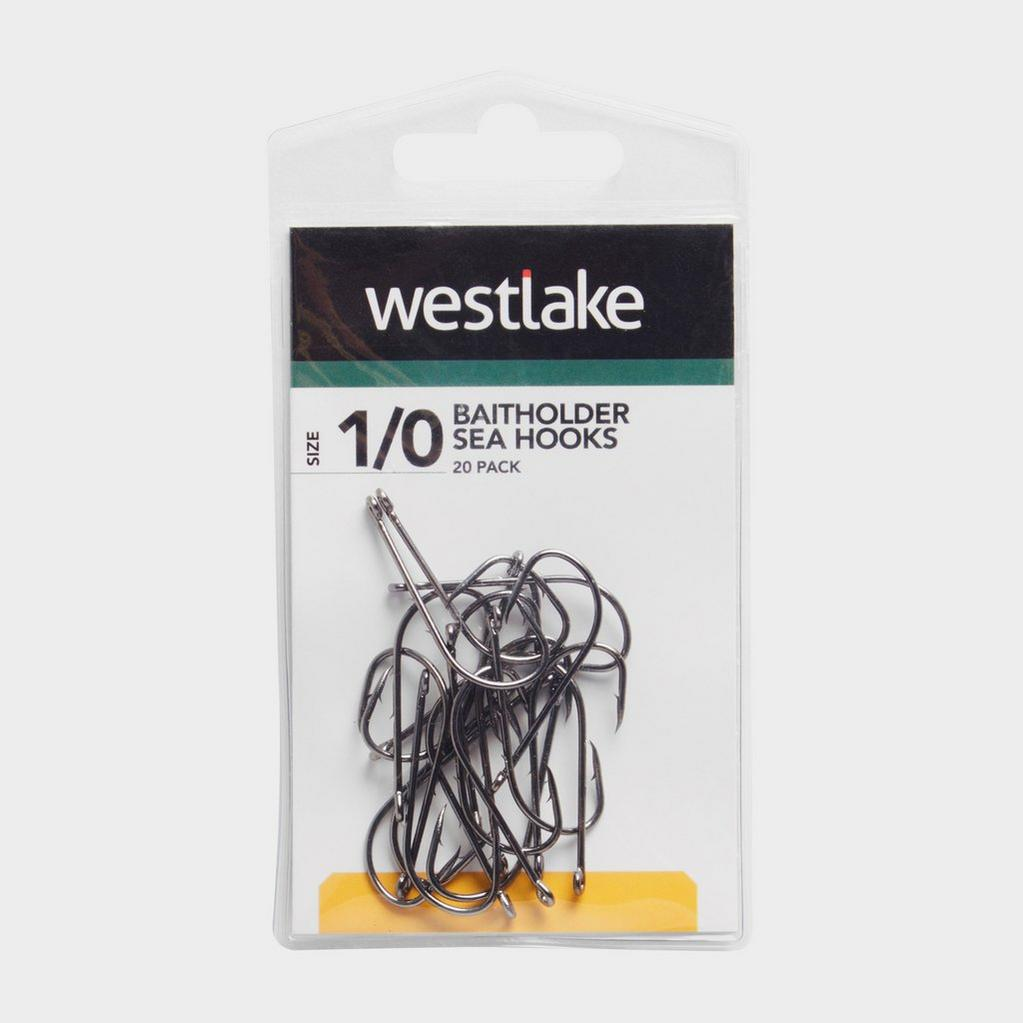 Black Westlake Baitholder Hooks (Size 1/0) image 1