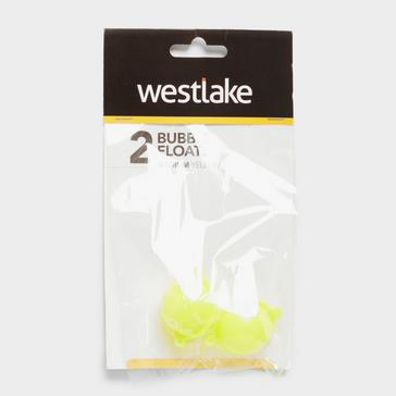 Yellow Westlake 2Pk Bubble Float Med Yellow