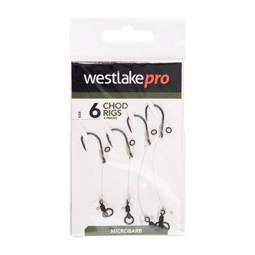 Clear Westlake Chod Rig Micro-barbed Size 6 4pcs