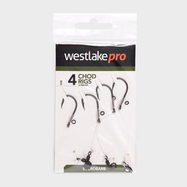 Clear Westlake Chod Rig Micro-barbed Size 8 4pcs