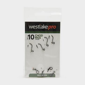 Black/Grey Westlake Chod Rig Micro-barbed Size 10 4pcs