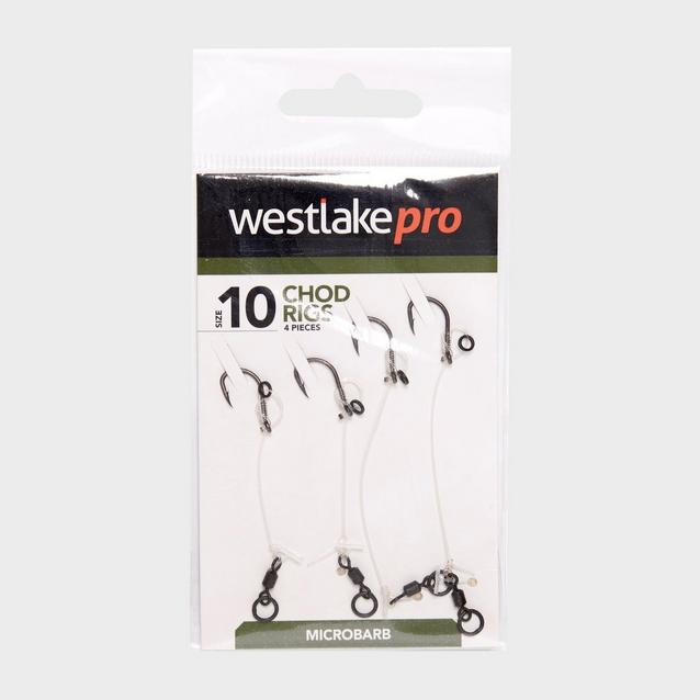 Silver Westlake Chod Rig Mbarbed Sz 10 4Pcs image 1