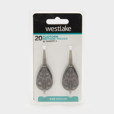 Grey Westlake Platform Method Feeder Medium 2 pack 20g