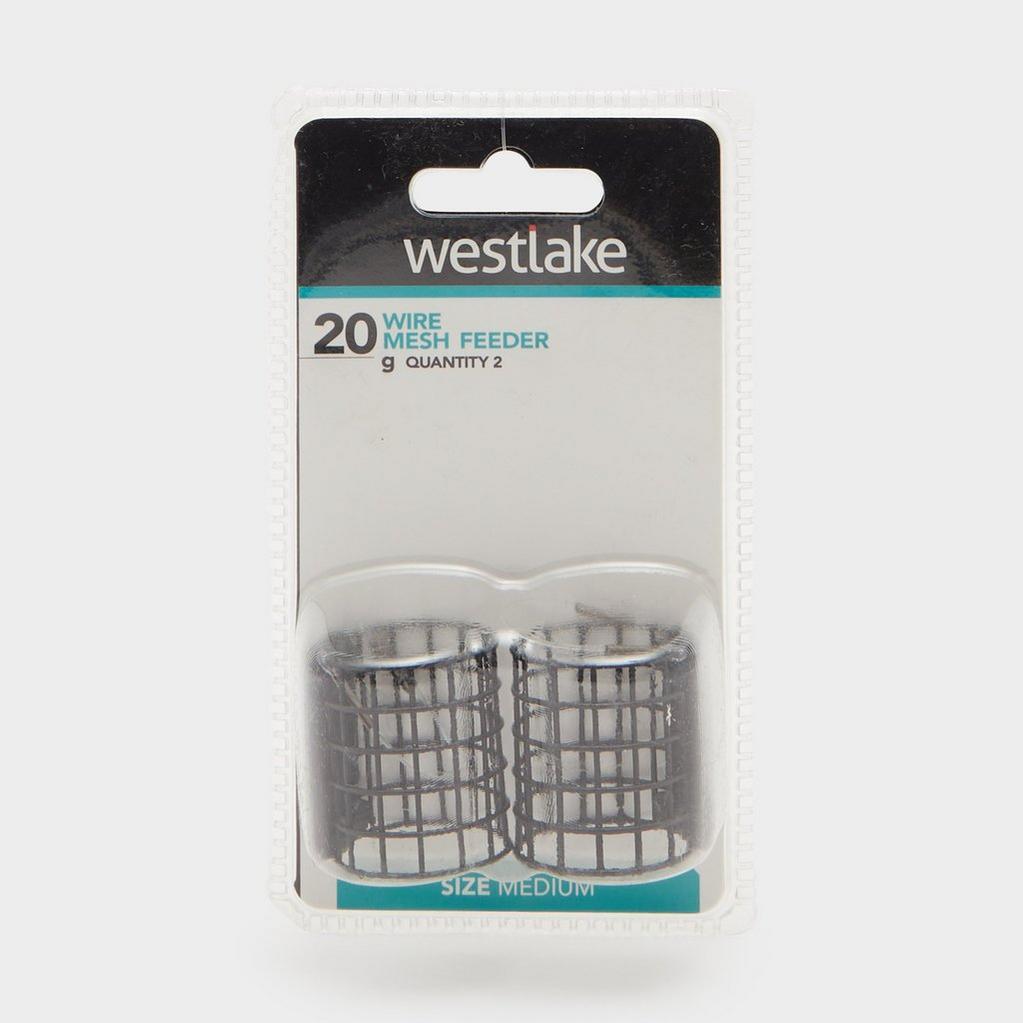 Black Westlake Wire Mesh Feeder Medium 20g (2 Pack) image 1