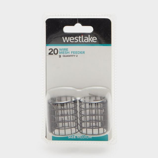 Black Westlake 20Gm Wire Mesh Feeder 2 Pk image 1