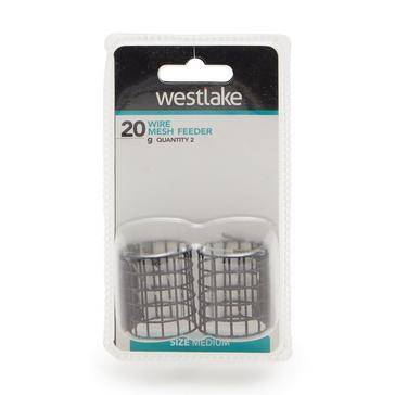 Black Westlake Wire Mesh Feeder Medium 20g (2 Pack)