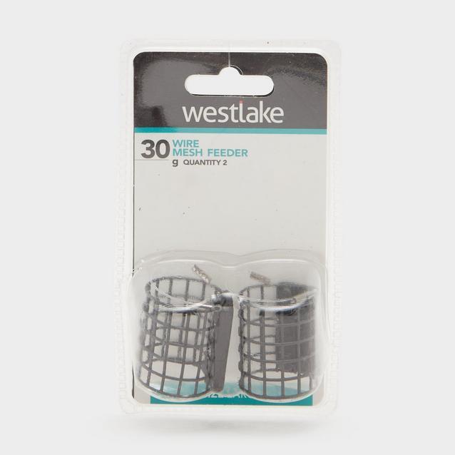 Black Westlake 30Gm Wire Mesh Feeder 2 Pk image 1