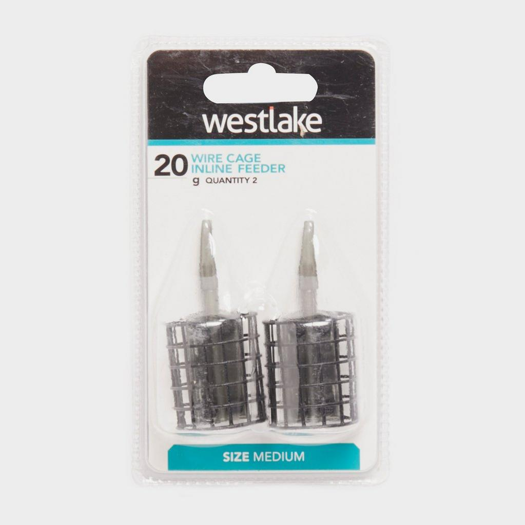 Black Westlake 20Gm Inline Cage Feeder image 1