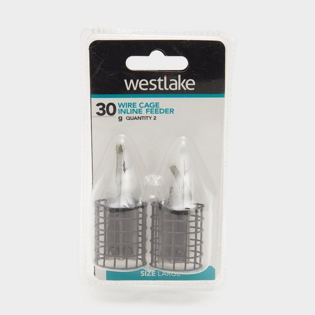 Black Westlake 30Gm Inline Cage Feeder image 1