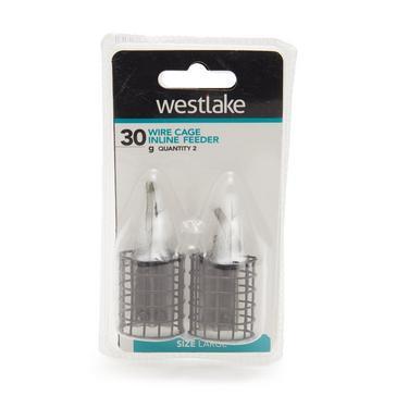 Grey Westlake Wire Cage Inline Feeder Large 30g