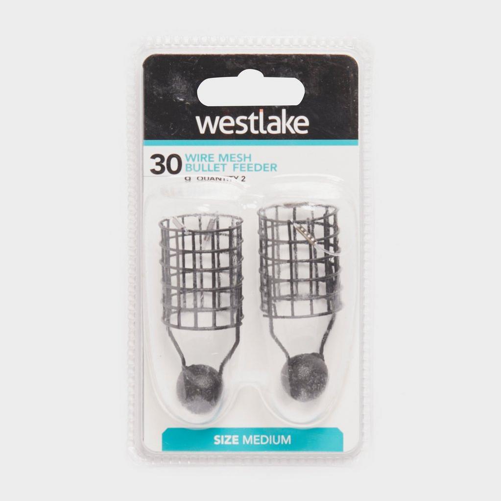 Grey Westlake Wire Mesh Bullet Feeder Medium 30g (2 pack) image 1
