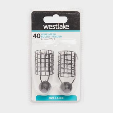 Black Westlake Wire Mesh Bullet Feeder Extra-Large 50g (2 pack)