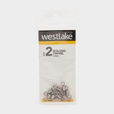 Silver Westlake Rolling Swivel Size 2