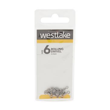Silver Westlake Rolling Swivel Size 6