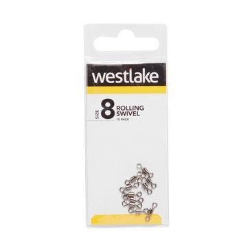 Silver Westlake Rolling Swivel (Size 8)
