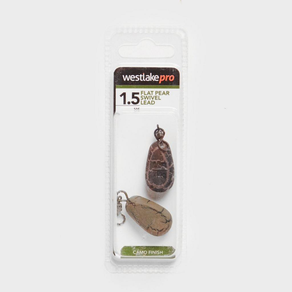 Brown Westlake Flat Pear Swivel Wgt 1 5Oz image 1