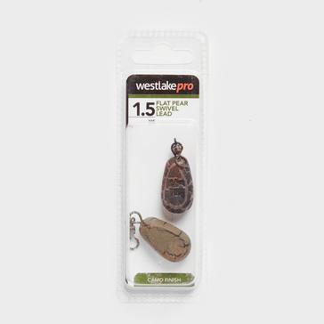 Brown Westlake Flat Pear Swivel Weight 5oz
