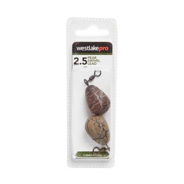 Brown Westlake Pear Swivel Lead 2.5oz