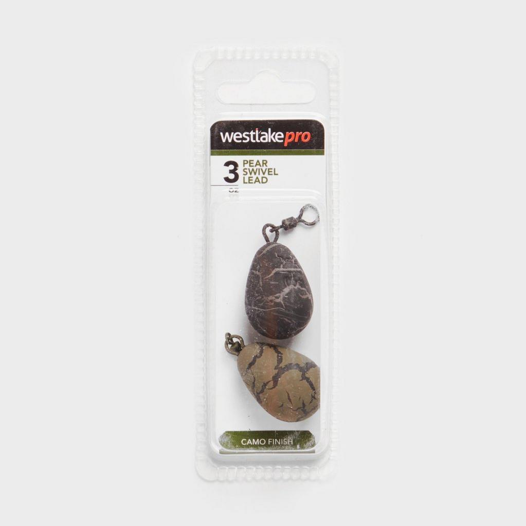 Brown Westlake Pear Swivel Lead 3oz image 1