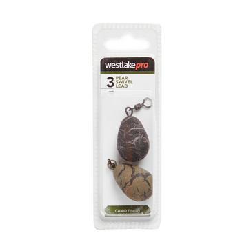 Brown Westlake Pear Swivel Lead 3oz