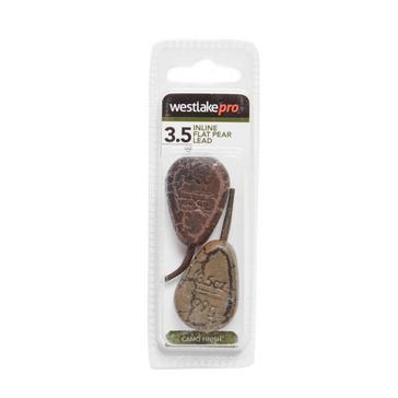 Brown Westlake Inline Flat Pear Lead 3.5oz