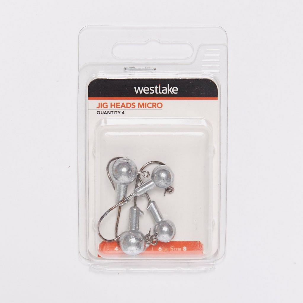 Silver Westlake Jig Heads Assorted Pack (2.5g and 5g) image 1