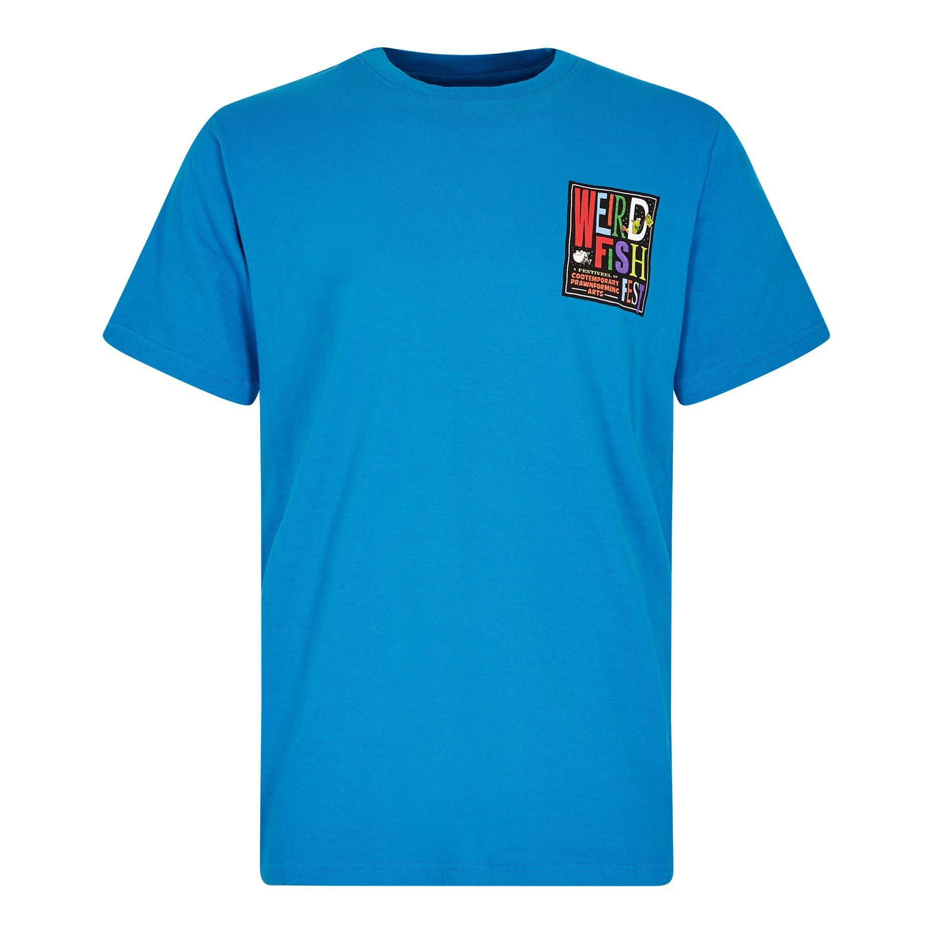 New Weird Fish Men's Clam Art Short Sleeve T-Shirt
