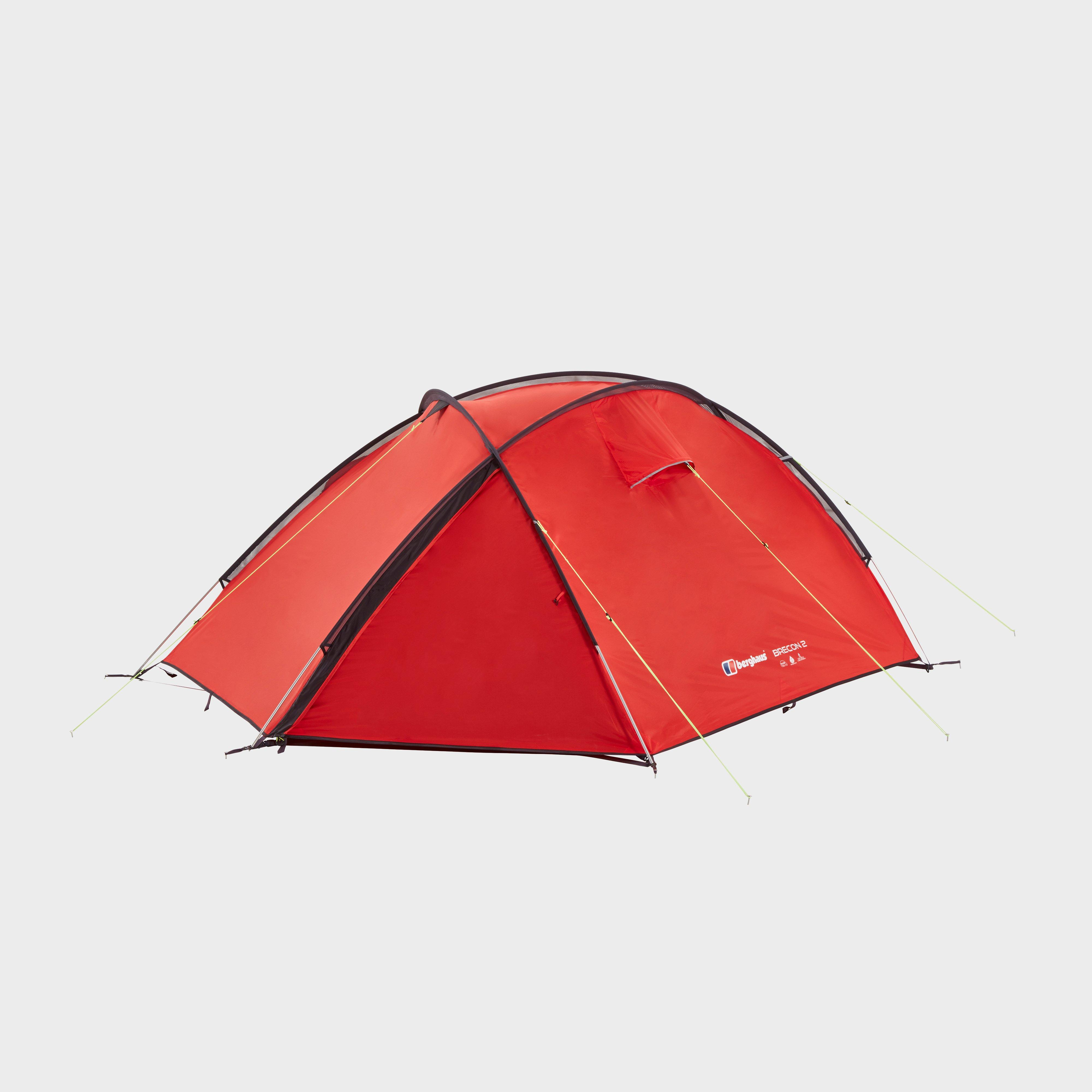 Berghaus Brecon 2 Tent, Red